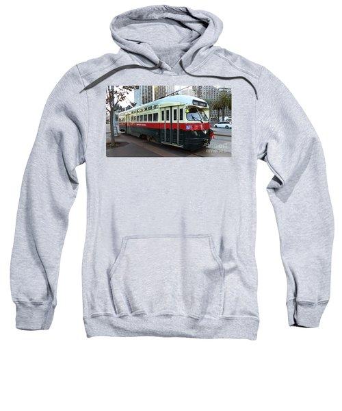 Trolley Number 1077 Sweatshirt