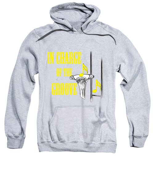 Trombones In Charge Of The Groove 5534.02 Sweatshirt by M K  Miller