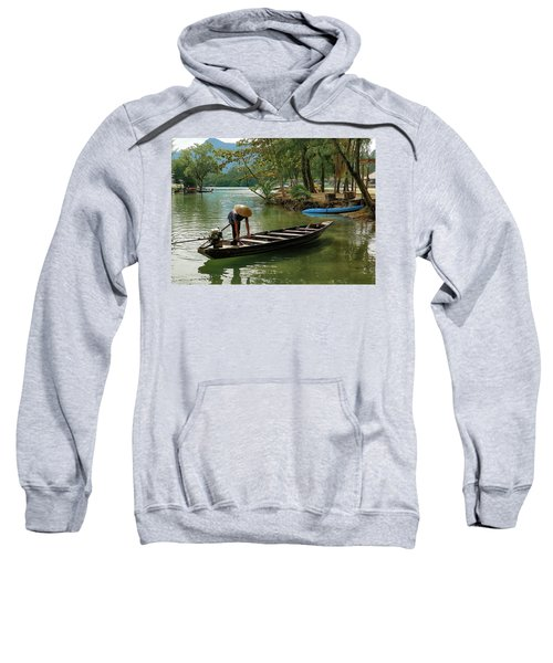 Tropical River  Sweatshirt