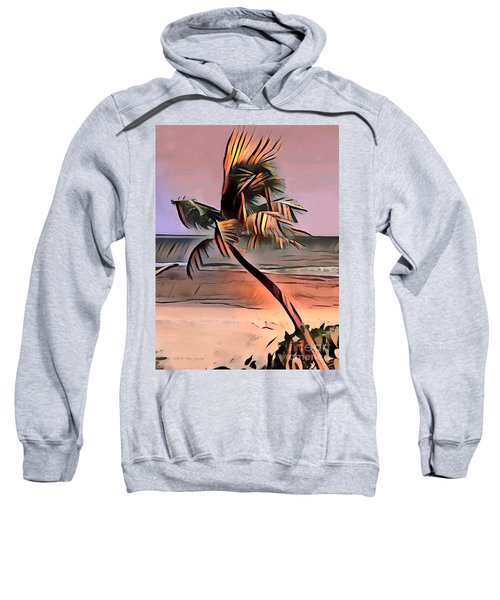 Tropical Seascape Digital Art E7717l Sweatshirt