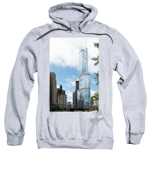 Trump Tower In Chicago Sweatshirt