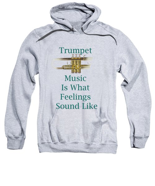 Trumpet Is What Feelings Sound Like 5582.02 Sweatshirt
