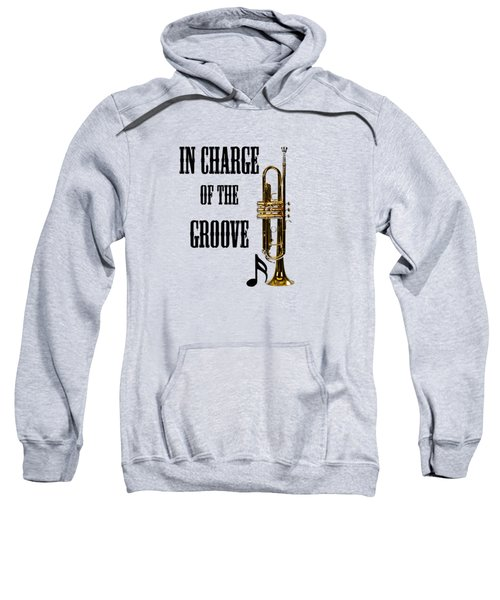 Trumpets In Charge Of The Groove 5536.02 Sweatshirt by M K  Miller