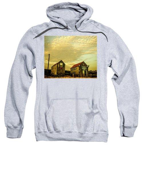 Truro Beach Houses Sweatshirt