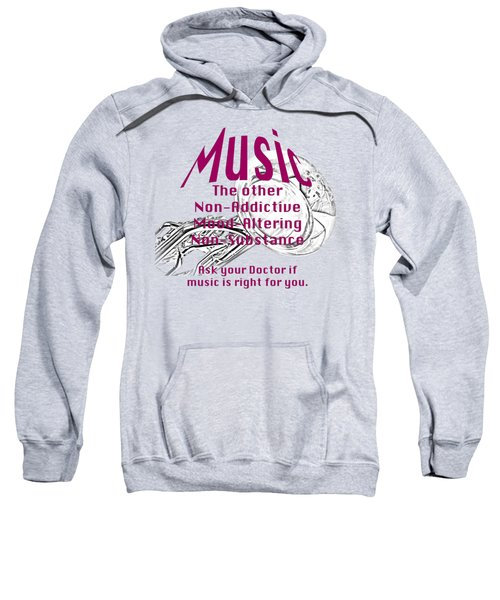 Tuba Or Euphonium Music Is Right For You 5497.02 Sweatshirt