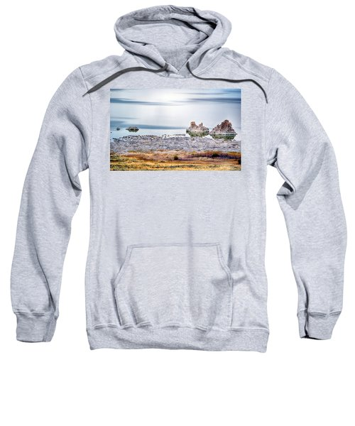Tufa Formations At Mono Lake Sweatshirt