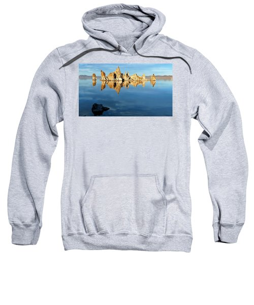 Tufa Reflection At Mono Lake Sweatshirt