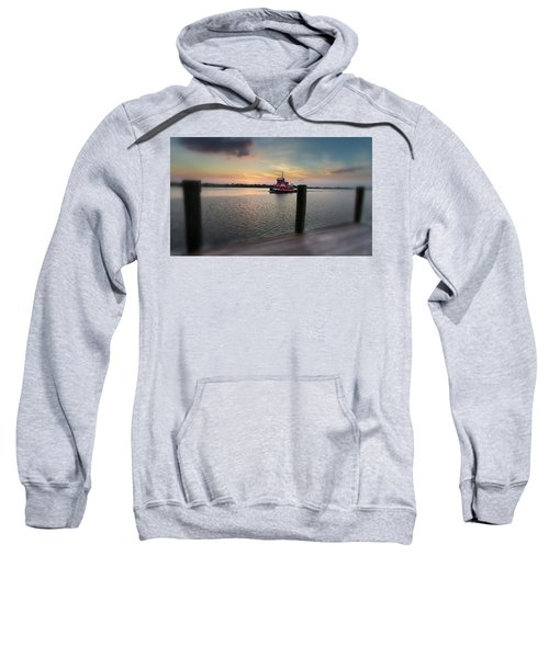 Tug Boat Sunset Sweatshirt