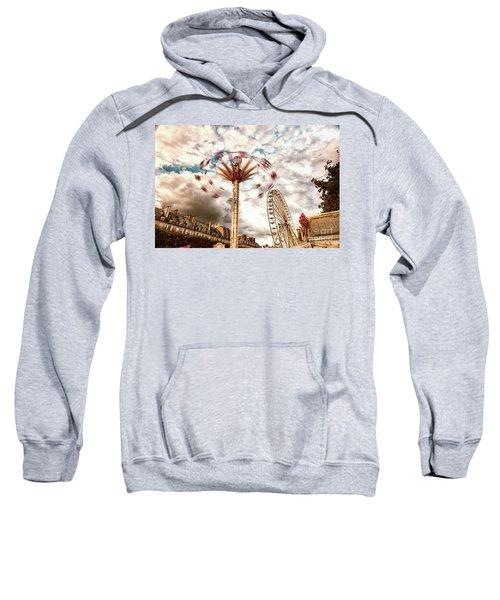 Tuilerie Garden Paris Swings Sweatshirt