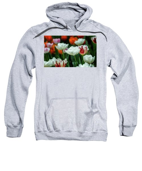 Tulip Flowers Sweatshirt