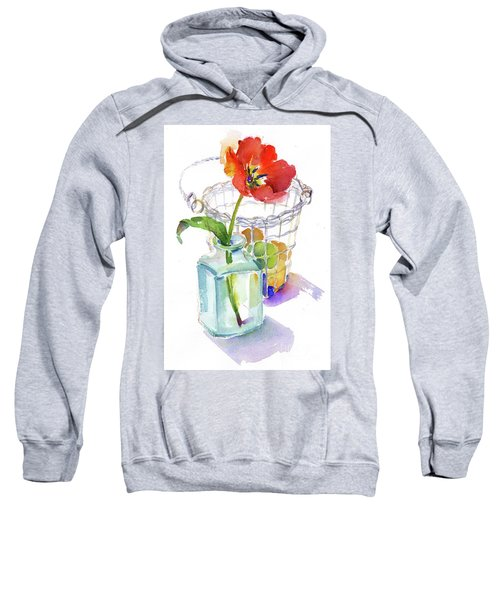 Tulip With Egg Basket Sweatshirt