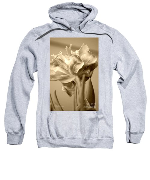 Tulips In Sepia Sweatshirt
