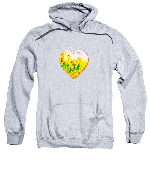 Tulips In Springtime Sweatshirt