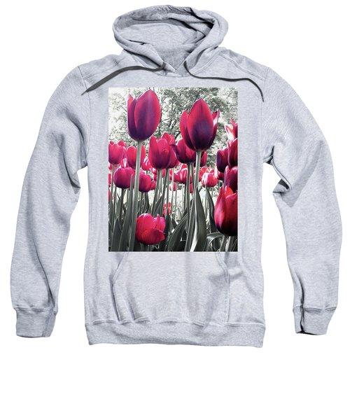 Tulips Tinted Sweatshirt