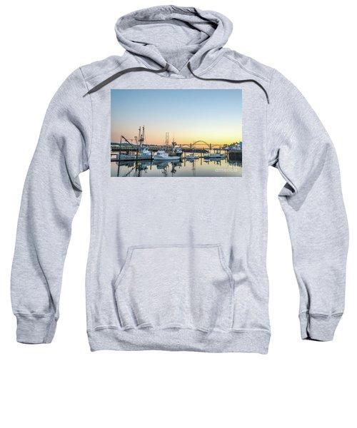 Tuna Boats Resting For The Night Sweatshirt