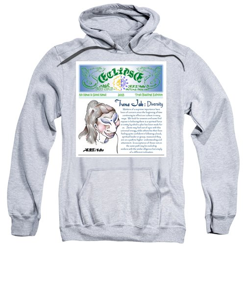 Real Fake News Spiritual Columnist 1 Sweatshirt