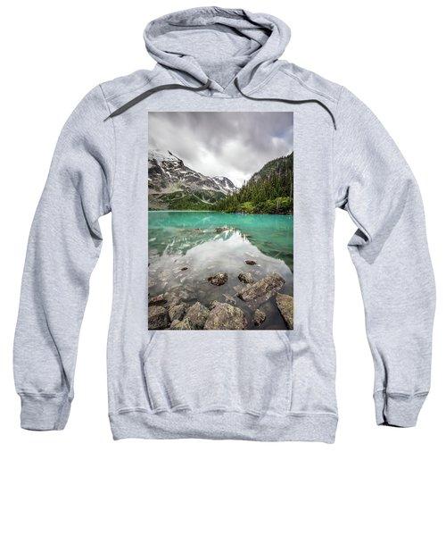 Turquoise Lake In The Mountains Sweatshirt