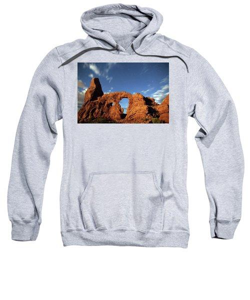 Turret Arch In The Moonlight Sweatshirt