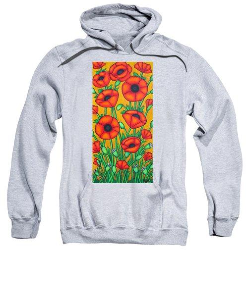 Tuscan Poppies Sweatshirt