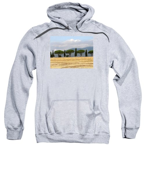 Tuscany Trees Sweatshirt