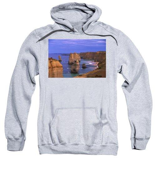 Twelve Apostles Limestone Cliffs, Port Sweatshirt