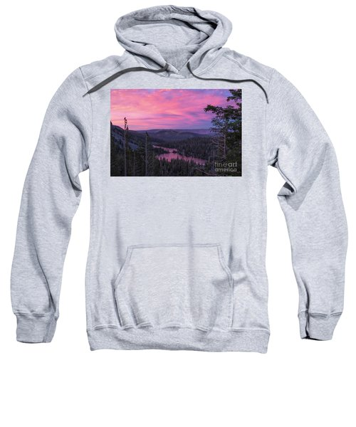 Twilight Mammoth Lakes  Sweatshirt
