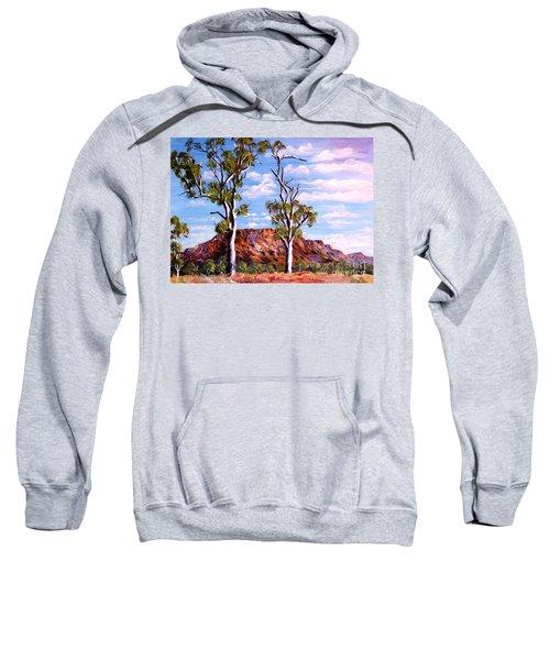 Twin Ghost Gums Of Central Australia Sweatshirt