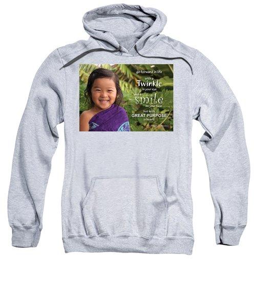 Twinkle Smile Sweatshirt