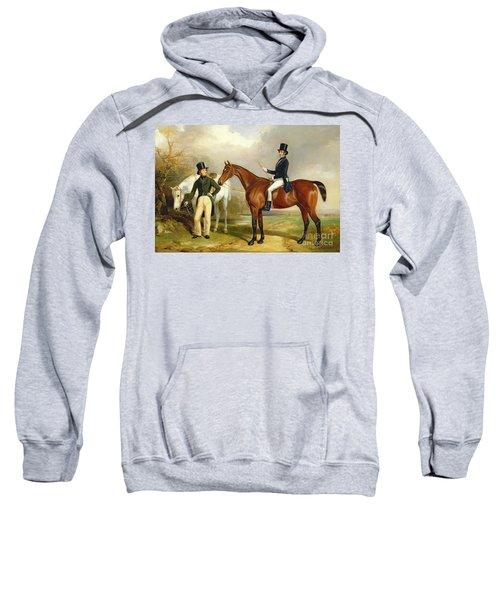 Two Gentlemen Out Hunting  Sweatshirt