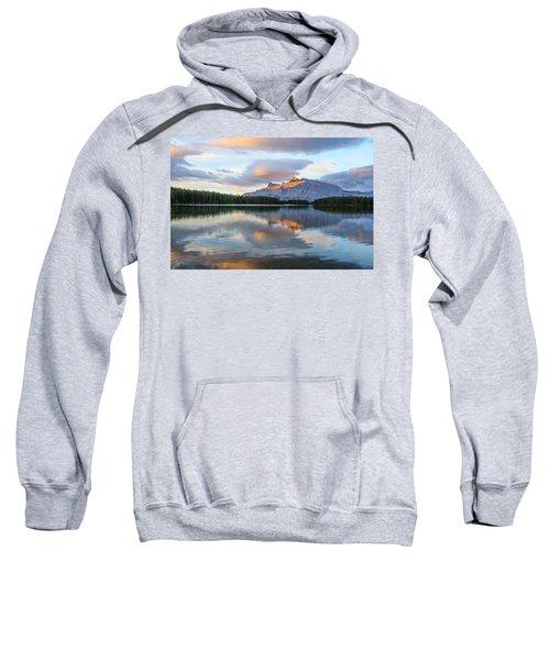 Two Jack Lake, Banff National Park Sweatshirt