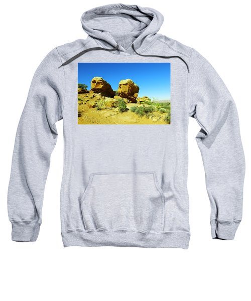 Two Orange Rocks Sweatshirt