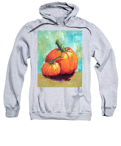 Two Pumpkins  Sweatshirt