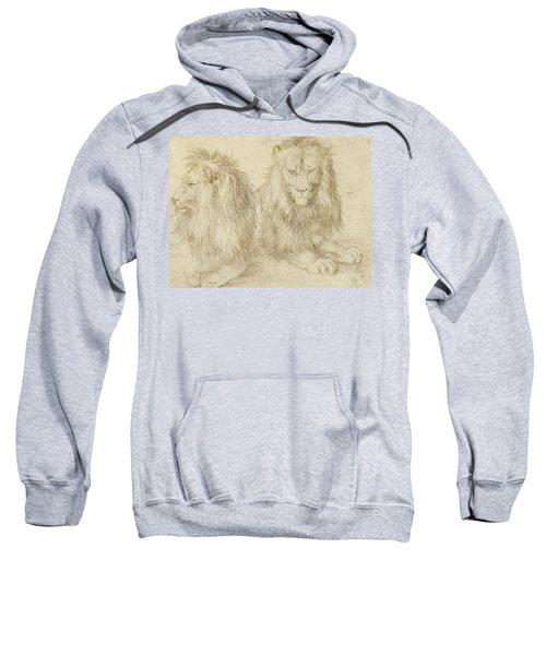Two Seated Lions Sweatshirt