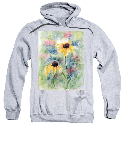 Two Sunflowers Sweatshirt
