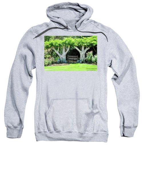 Two Tall Trees, Paradise, Romantic Spot Sweatshirt