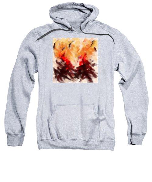Two To Tango Abstract Sweatshirt