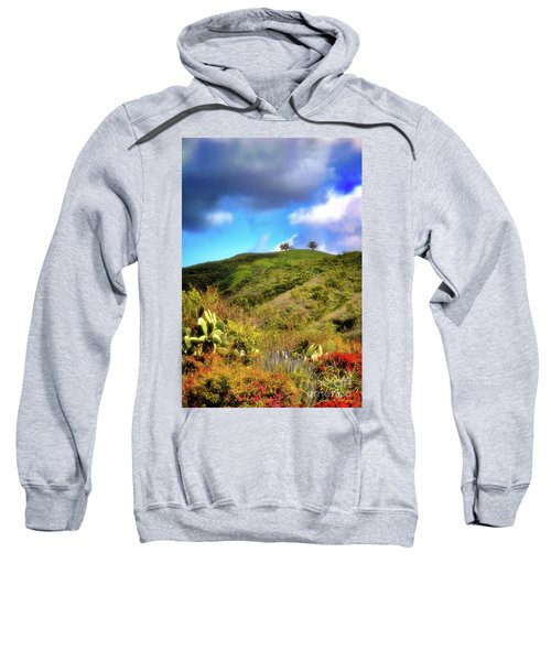 Two Trees In Spring Sweatshirt