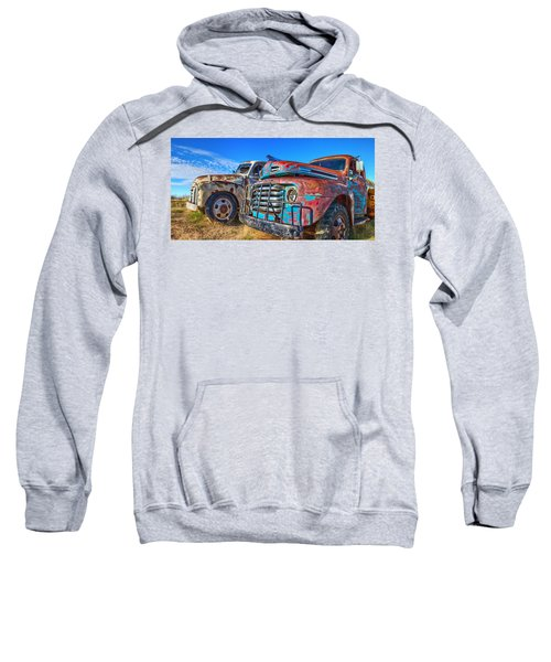 Two Trucks Sweatshirt