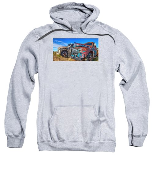 Two Trucks Sweatshirt