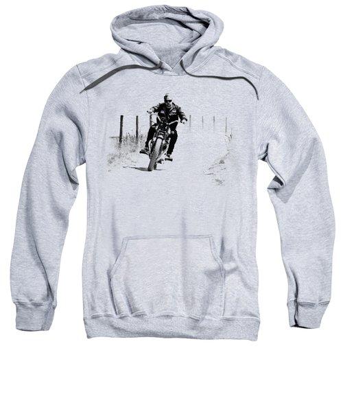 Two Wheels Move The Soul Sweatshirt by Mark Rogan