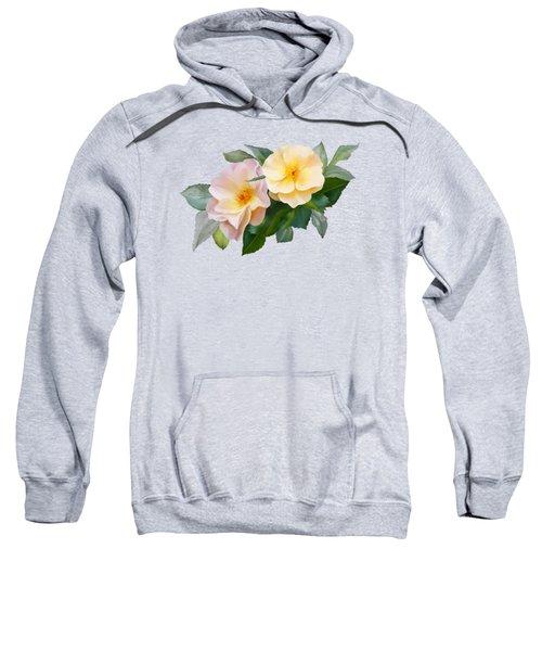 Two Wild Roses Sweatshirt