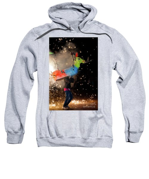 Typical Festival Plaza South Italy Sweatshirt