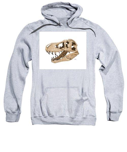 Tyrannosaurus Skull Sweatshirt
