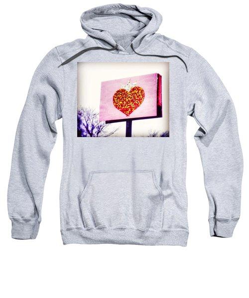 Tyson's Tacos Heart Sweatshirt