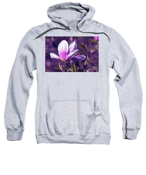 Ultra Violet Magnolia  Sweatshirt
