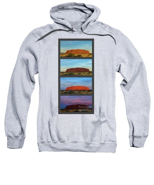 Uluru Sunset Sweatshirt