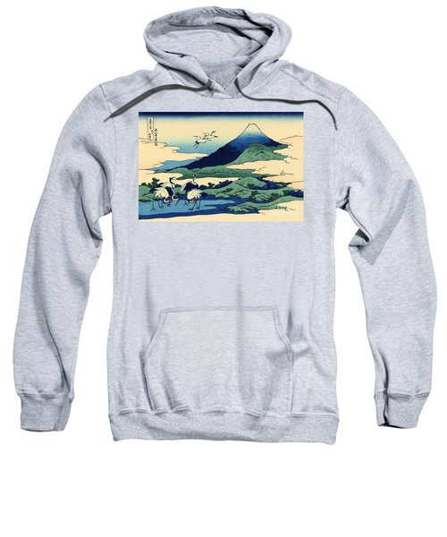 Umegawa In Sagami Province, One Of Thirty Six Views Of Mount Fuji Sweatshirt by Hokusai