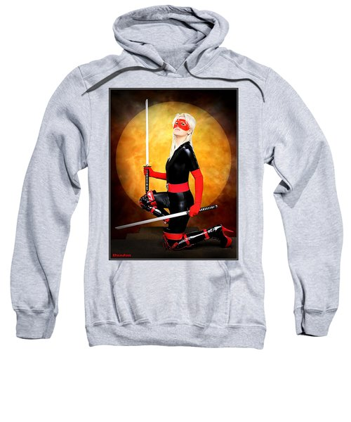 Under A Blood Moon Sweatshirt