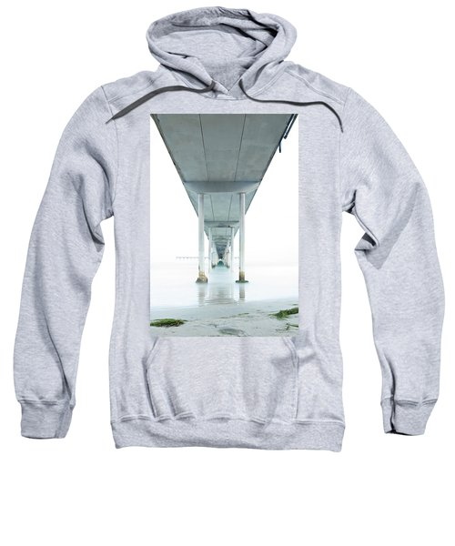Under The Ocean Beach Pier Early Morning Sweatshirt