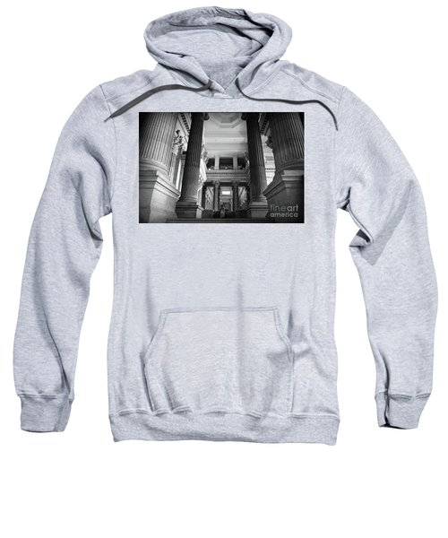 Under The Scaffolding Of The Palace Of Justice - Brussels Sweatshirt
